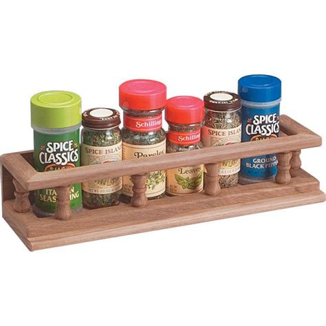 Small Spice Rack by Whitecap Teak Small Spice Rack 62436
