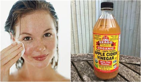 reasons  wash  face skin  apple cider vinegar