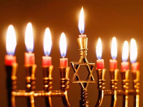 Hanukkah L by Lighting A Menorah Outside In The United States The Yeshiva World