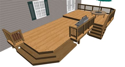Composite Wood by Low Elevation Deck Designs Baltimore Annapolis Md Dc Va