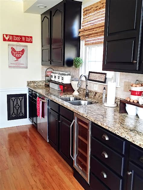 General Finishes Milk Paint Kitchen Cabinets Reviews by Painted Kitchen Cabinets Makeover Before After At