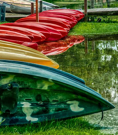 canoes for rent canoes for rent photograph by gene sherrill