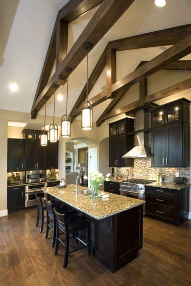 Kitchen Lighting Ideas Vaulted Ceiling Best 25 Vaulted Ceiling Lighting Ideas On Pinterest Vaulted Ceiling Kitchen Kitchen With