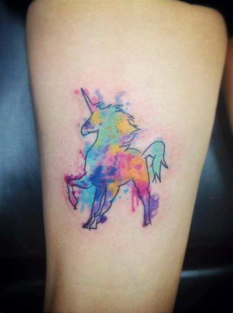 small unicorn tattoo realistic unicorn tattoos search tattoos