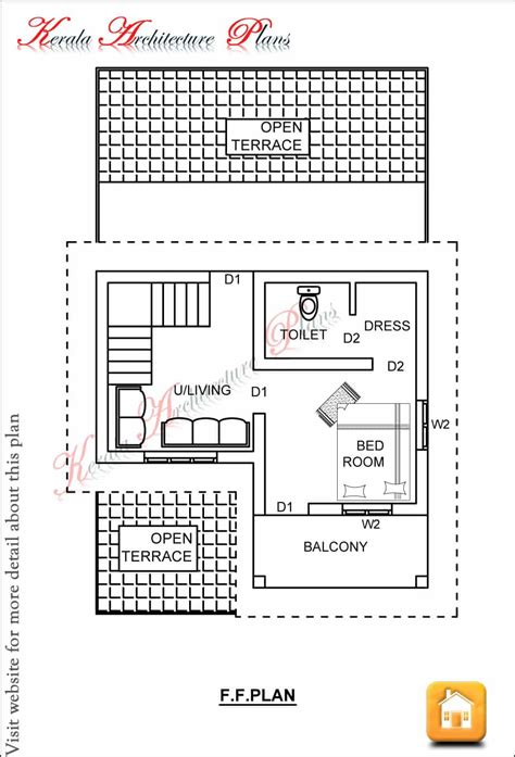 square house plans 2 bedroom house plans kerala style 1200 sq feet savae org