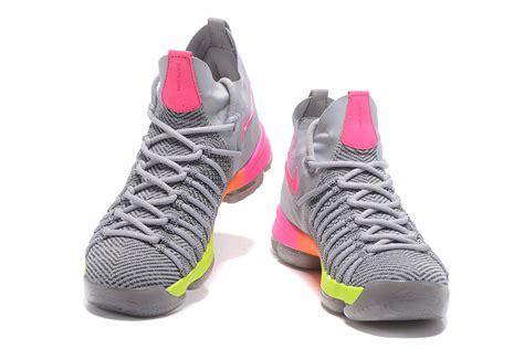 kd elite basketball shoes cheap nike kd 9 ix elite basketball shoes pink grey