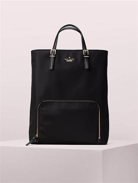 s black convertible backpack laptop bag kate spade new york