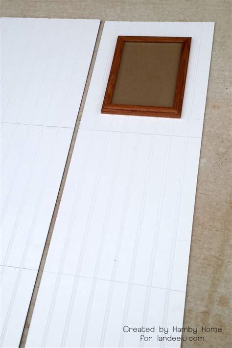 beadboard frame diy beadboard picture frames landeelu