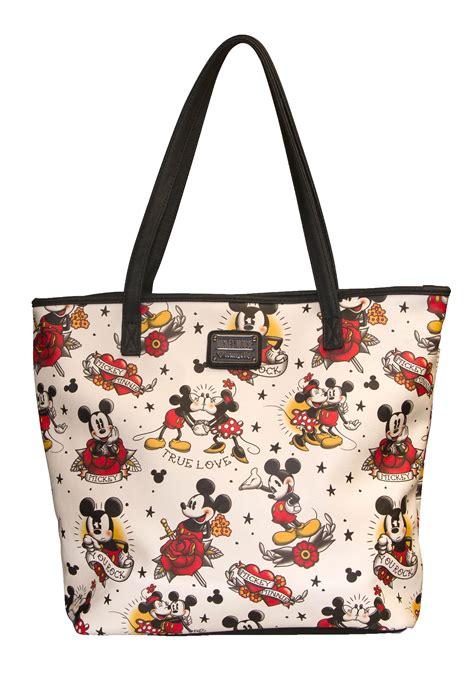 Tote Bag Mickey Minnie loungefly disney mickey and minnie tote bag