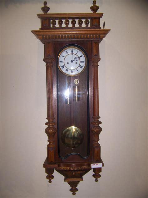 gustav becker gustav becker signed clock approximately 51 t