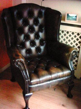 Used Leather Armchair by Relocation Sale