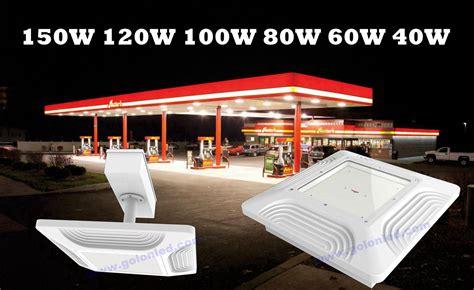 led gas station canopy lights 120w led canopy light for gas sation 130lm w manufacturer