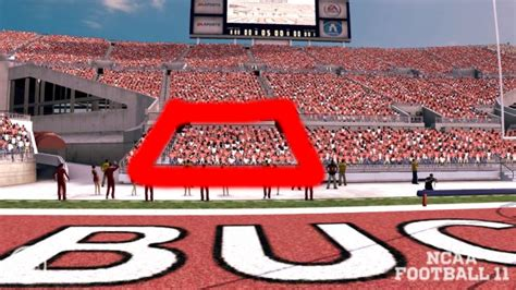 Ohio Stadium Student Section by The Gaming Tailgate Help Shape Ncaa Football Band Locations
