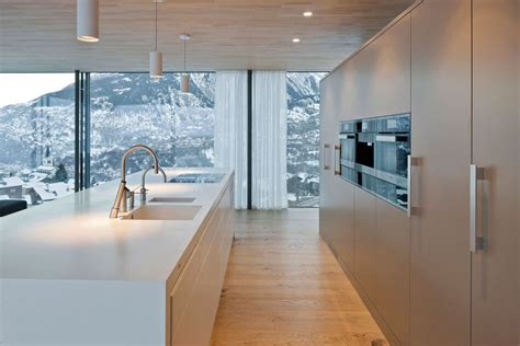 cuisine blanc laque avec ilot ilot cuisine blanc laqu 233