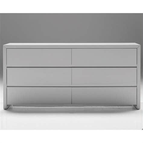 white gloss bedroom dresser mobital blanche double dresser in high gloss white dre
