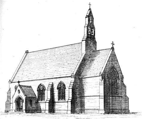 awn pugin st bede s masbro by augustus welby northmore pugin 1812