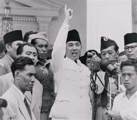 biography presiden soekarno soekarno spraak vaak de inwoners toe om zich tegen de
