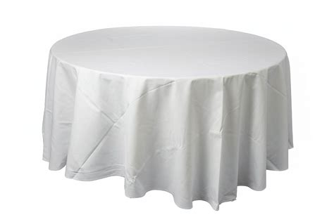 round table with white tablecloth tablecloths tauranga party hire