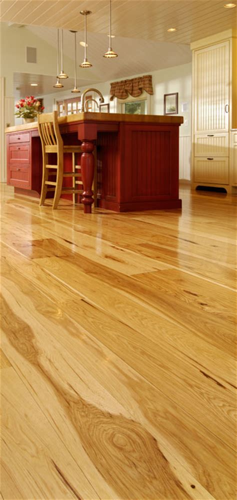 Carlisle Floors by Wide Plank Hickory Flooring Nature S Toughest Wood By