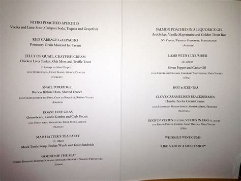 and duck menu the duck the copper kettle