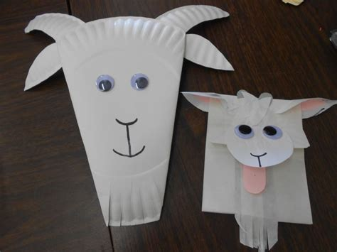 Goat Paper Plate Craft - 17 best images about early years on
