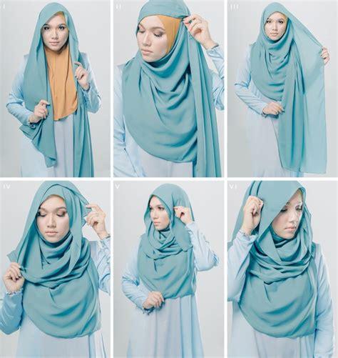 tutorial hijab pashmina fashion tutorial hijab pashmina revistabiblios com
