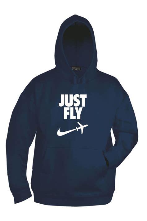 Hoodie Just Fly skyshop jeppesen garmin lowrance avmap