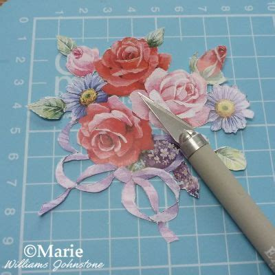3d Decoupage Tutorial - how to use 3d decoupage sheets 3d