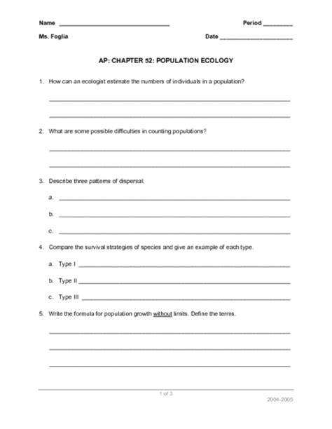 Ecology Worksheets by Pictures Ecology Worksheet Signaturebymm