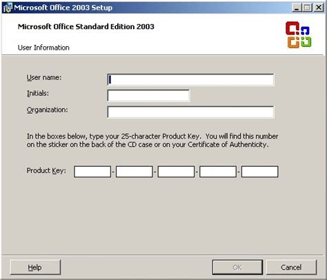 Microsoft Office 2003 Product Key by Image Gallery Key Microsoft Office Setup