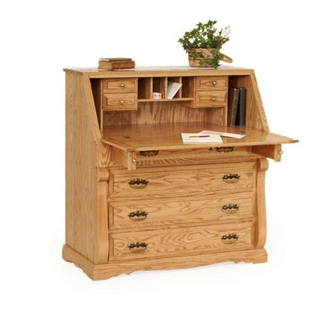 secretarys desk traditional desk amish traditional