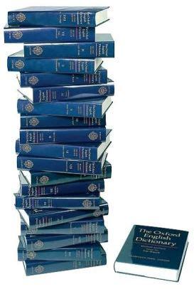 the oxford english dictionary hardback john simpson edmund weiner oxford university press the oxford english dictionary 20 volume set edition 2 by john simpson 9780198611868