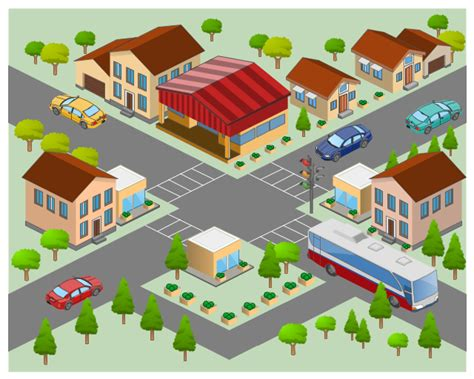 neighborhood map clipart clipart suggest