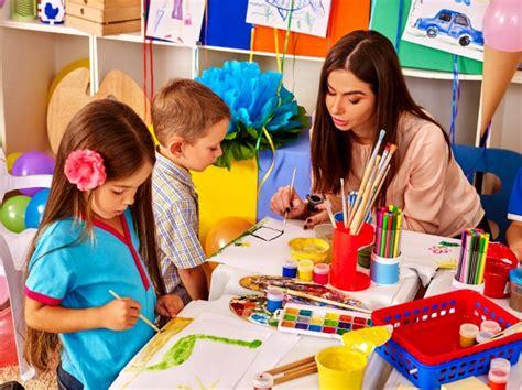 kindergarten description salary and education