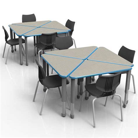 table wing flavors smith system classroom set 8 wing desk 8 flavors chairs