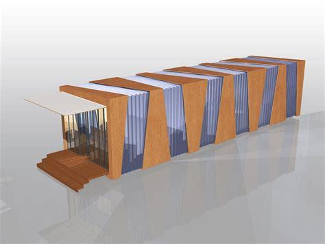pavillon kunst temporary pavillion sponge architects archdaily