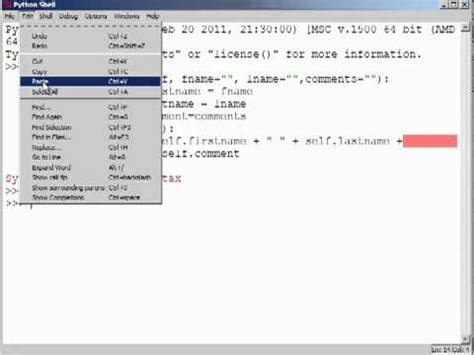 python tutorial classes objects python training classes object oriented python