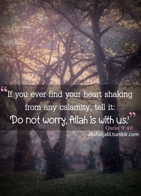 islamic worry quot if you find your shaking from calamity tell