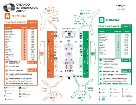 mco map tips for choosing a shuttle service from orlando airport