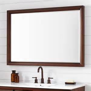 mahogany bathroom mirror talyn mahogany vanity mirror light walnut framed