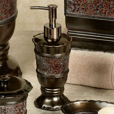 prescott bronze bath accessories