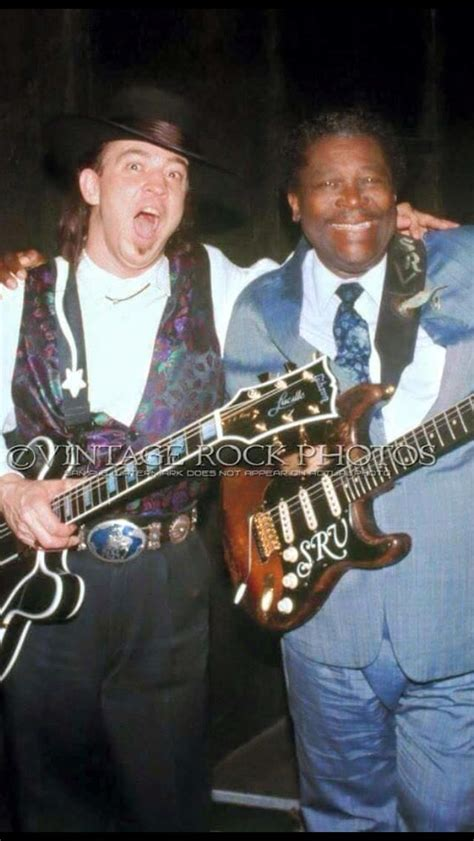 srv  bb king swap guitars guitar influences   ray vaughan stevie ray blues