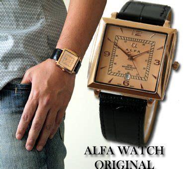 Fashion Yazole 311 Jam Tangan Pria Brown White Leather buy alfa leather jam tangan kulit pria original
