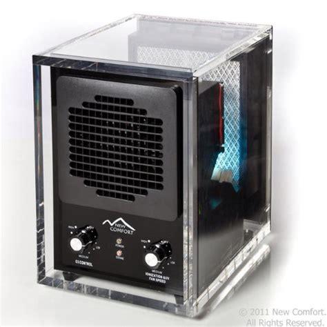 new comfort ozone generator 6 stage acrylic ca3500 new comfort uv ozone generator air