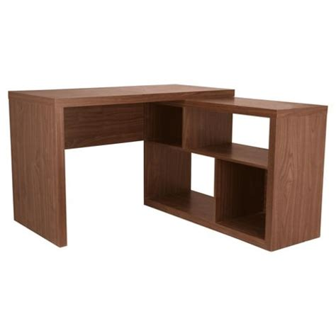 Walnut Corner Desk Buy Seattle Corner Desk From Our Office Desks Tables Range Tesco