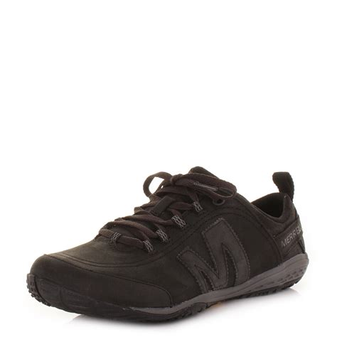 mens merrell excursion glove smooth black leather active