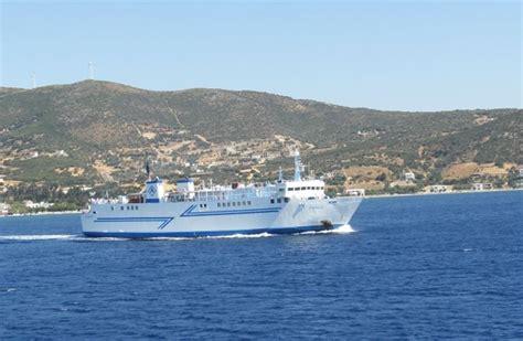 ferry boat agia marina nea styra f 228 hren nach s 252 d evia marmari styra karystos