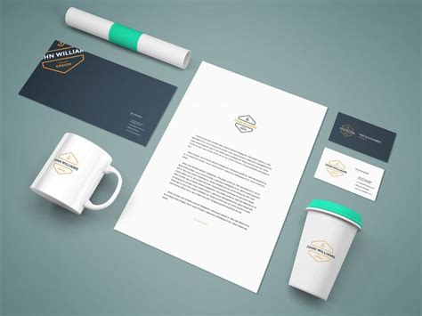 free graphic design mockup templates free branding stationery mockup freebies a4 business card