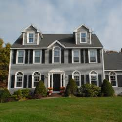colonial style homes beautiful colonial style home with newpro siding windows