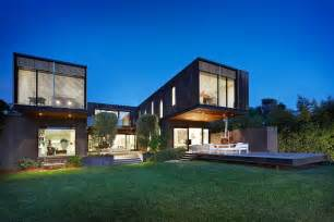 the contemporary side of a victorian house designed by